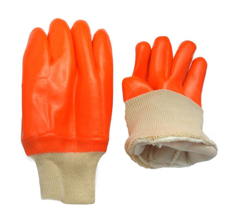 PVC Winter Cold-resistant Safety Gloves